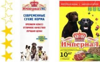 Обзор и отзывы  корма для собак ИмпериалАС