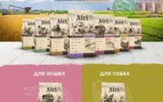 Обзор корма для кошек Airi