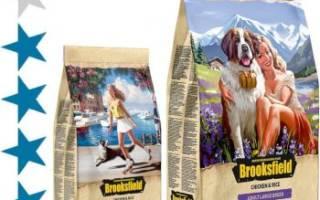 Обзор и отзывы  корма для собак Brooksfield