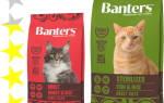 Обзор корма для кошек Banters