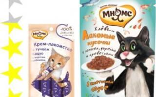 Обзор и отзывы  корма для собак Мнямс