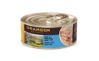 Обзор корма для кошек Grandin