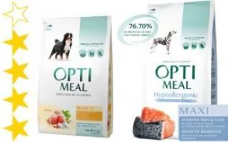 Обзор и отзывы  корма для собак Optimeal
