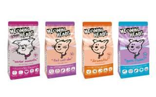 Обзор корма для кошек Meowing Heads