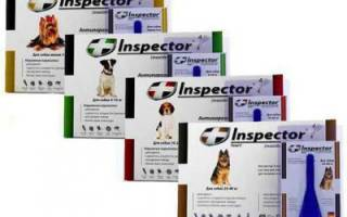 Инспектор для собак — инструкция по применению