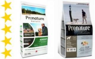 Обзор и отзывы  корма для собак Pronature Holistic