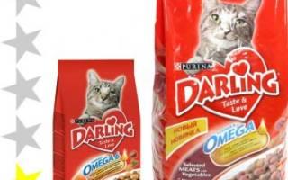 Обзор корма для кошек Darling