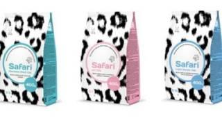 Обзор корма для кошек Safari